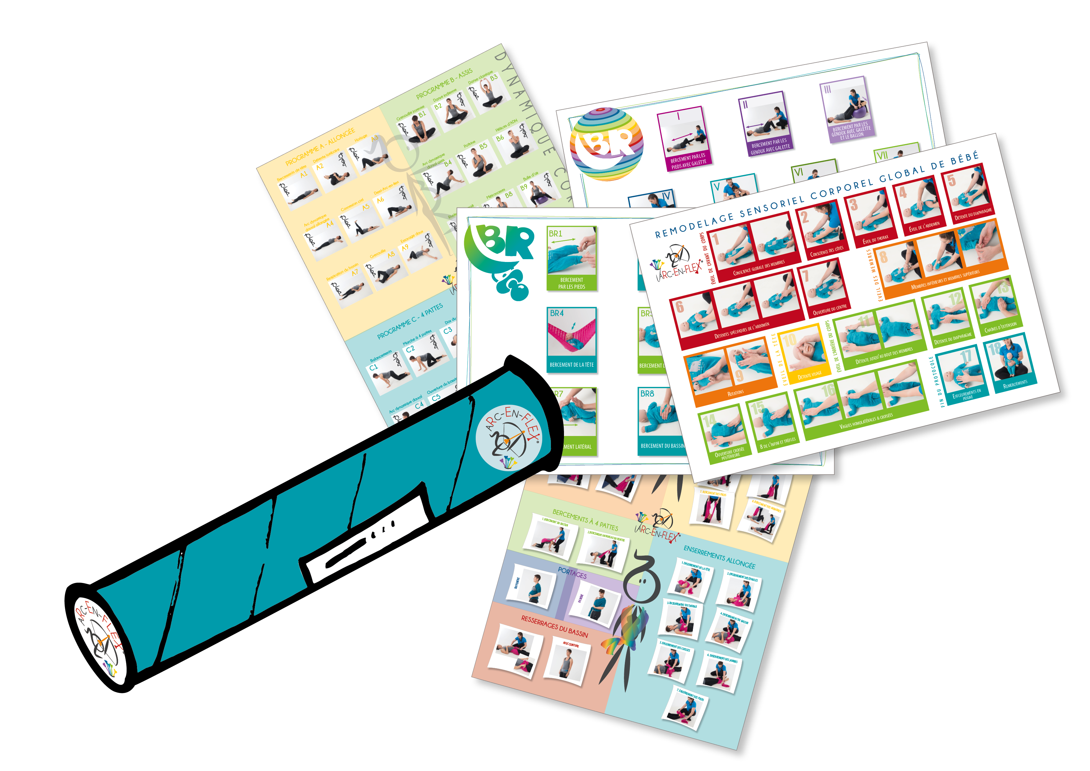 Pack Turquoise Posters